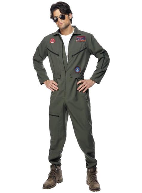 Top Gun Deluxe Maskeraddräkt
