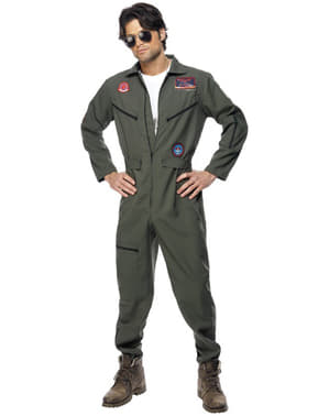 Top Gun Deluxe Costume