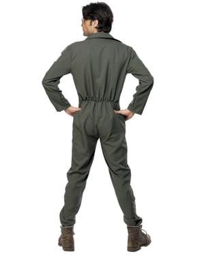 Top Gun kostuum deluxe