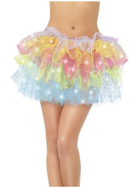 Rainbow Tutu with Sequins