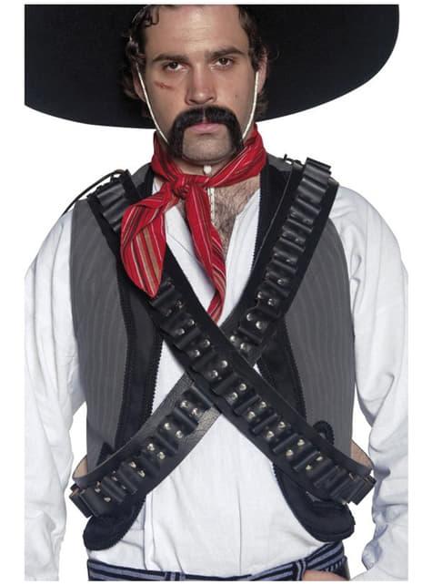 Opasek na náboje pro vesternového banditu