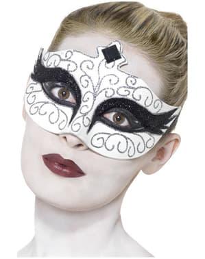 Maska Czarny Łabędź