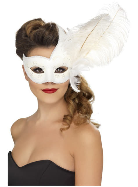 Colombine Dekorert Maske