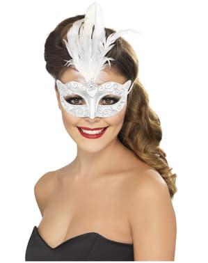 Maschera veneziana brillantinata