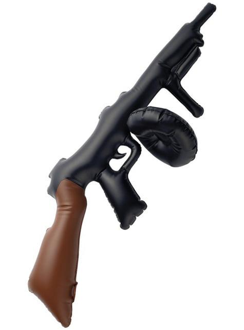 Opblaasbare mitrailleur