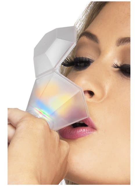 Ring mit Schnapsglas mit Lichteffekt