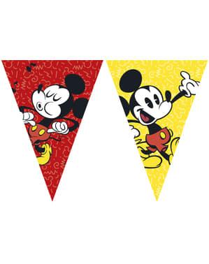 Grinalda triângulos Mickey Mouse - Mickey Comic