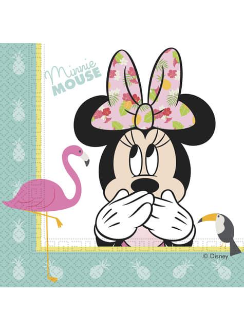 Minnie Mouse Servietten Set 20-teilig