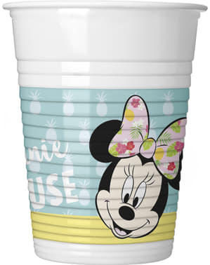 Set of 8 Minnie Mouse cups