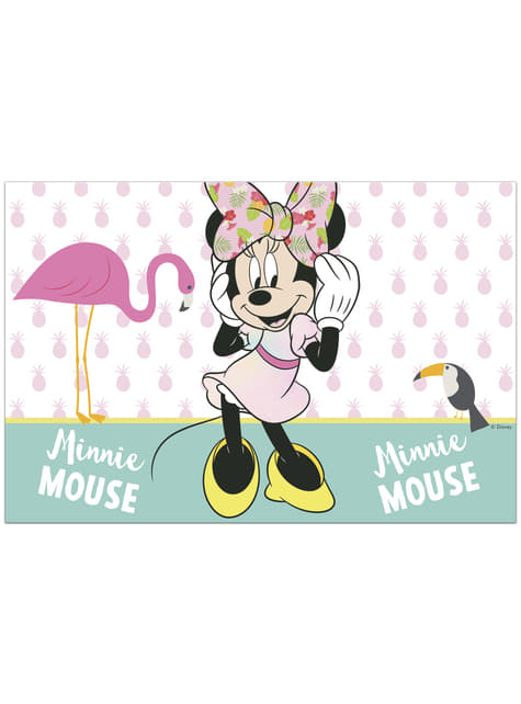 Mantel de Minnie Mouse - Minnie Tropical