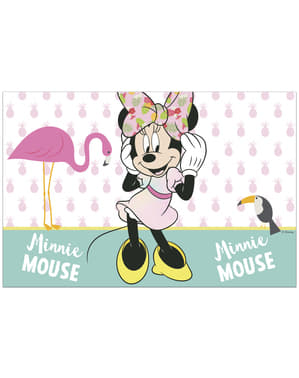 Minnie Mouse tablecloth - Minnie Tropical