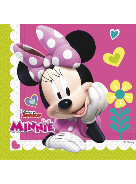 20 servilletas Minnie Mouse Junior (33x33cm)