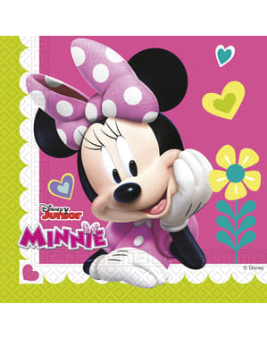 20 Serviettes en papier Minnie Mouse Junior