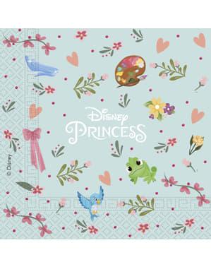 20 servetter i papp Disneyprinsessor (33x33 cm)