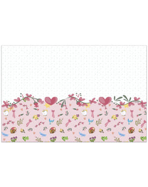 Mantel de animalitos - Princesas Disney