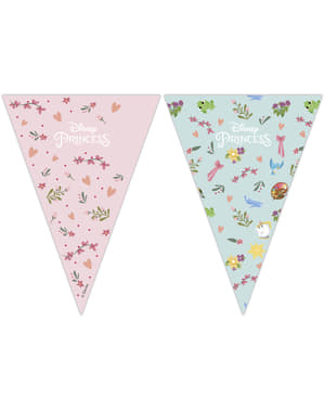 Disney Princesses triangle garland