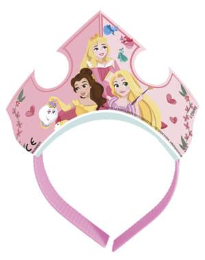 Sæt af 4 disney prinsesser tiaraer