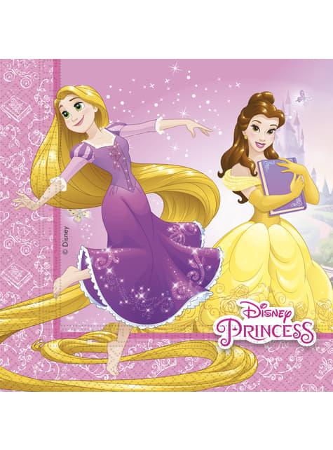 20 servilletas Princesas Disney Heartstrong (33x33 cm)