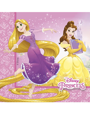 20 șervețele Prințese Disney Heartstrong