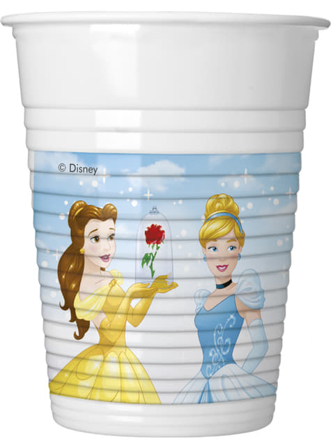 8 vasos Princesas Disney Heartstrong