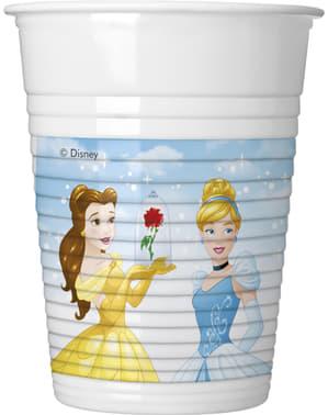 Sett med 8 Disney Hearthstrong Prinsesse kopper