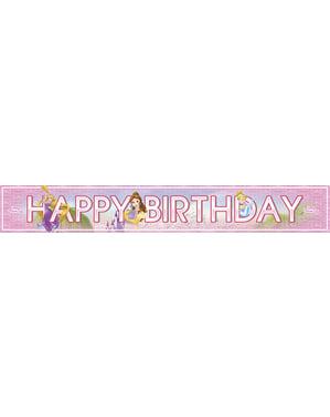 Striscione ''Happy Birthday'' principesse Disney Heartstrong