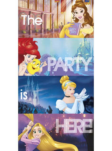 Cartel para pared Princesas Disney Heartstrong