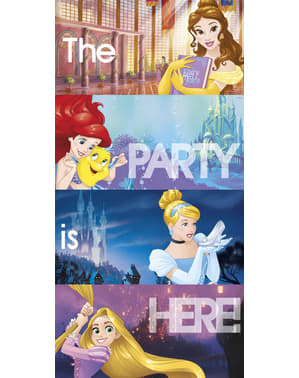 Cartel para pared Princesas Disney Heartstrong