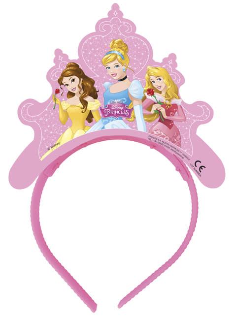 Conjunto de 4 tiaras Princesas Disney Dreaming