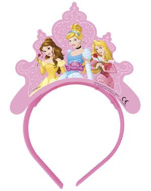 Sæt af 4 disney prinsesser drømmende tiaraer