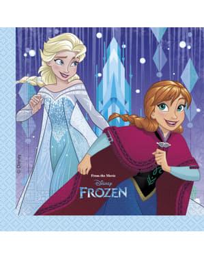 Conjunto de 20 guardanapos Frozen