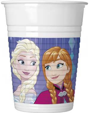 Set of 8 Frozen cups