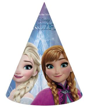6 gorritos de cumpleaños Frozen