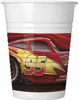 8 Cars cups