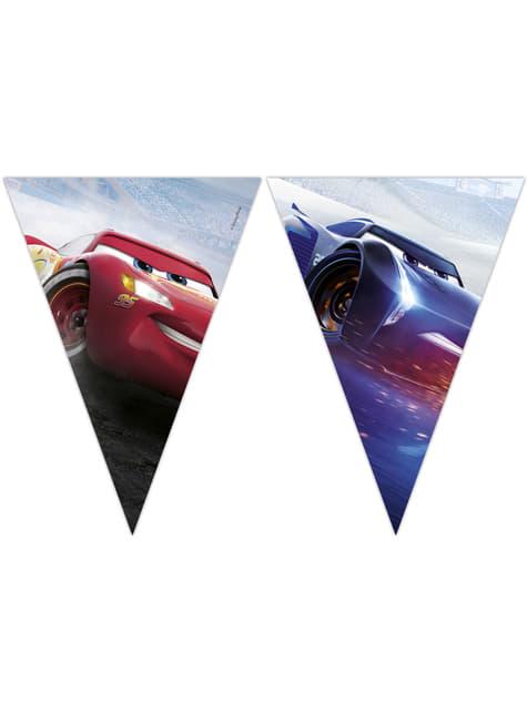 Guirnalda triángulos Cars