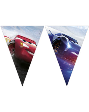 Cars triangle garland
