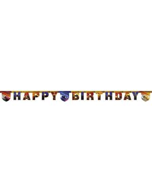 מכוניות 'יום הולדת שמח' גרלנד