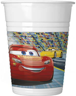 8 Cars 3 cups