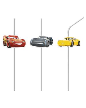 6 कारों के 3 तिनके का सेट