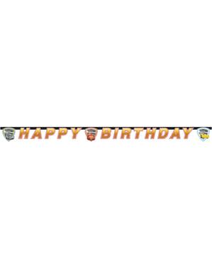 Автомобілі 3 'З днем народження' гірлянди