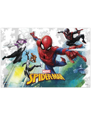 Spiderman tablecloth