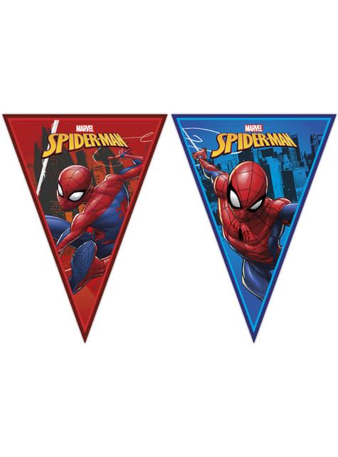 Spiderman triangle garland