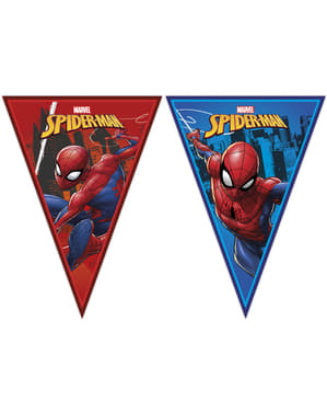 Spiderman triangle garland