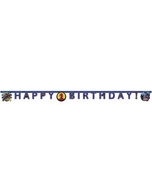Guirlande anniversaire Spiderman