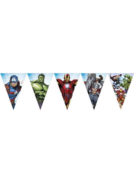 Guirnalda triángulos Los Vengadores - Mighty Avengers