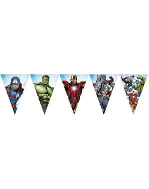 Girlanda z trójkątami Avengers