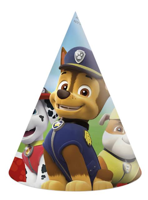 6 Paw Patrol little hats