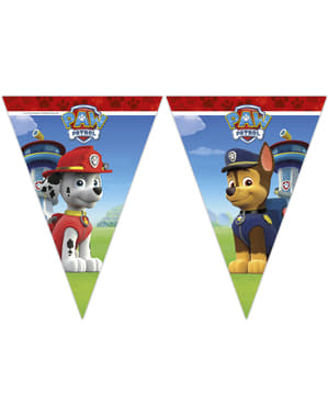Paw Patrol triangle garland