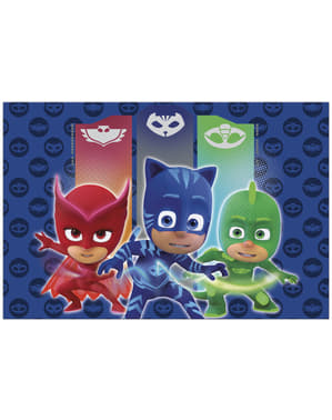 Blue Pj Masks table cloth