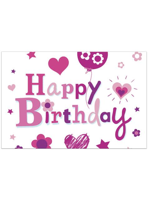 Mantel Happy Birthday Girl